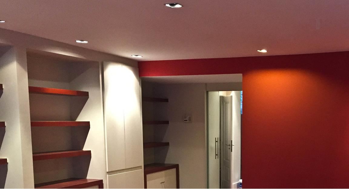 Cambio de iluminacion y proyectos de iluminación en Madrid