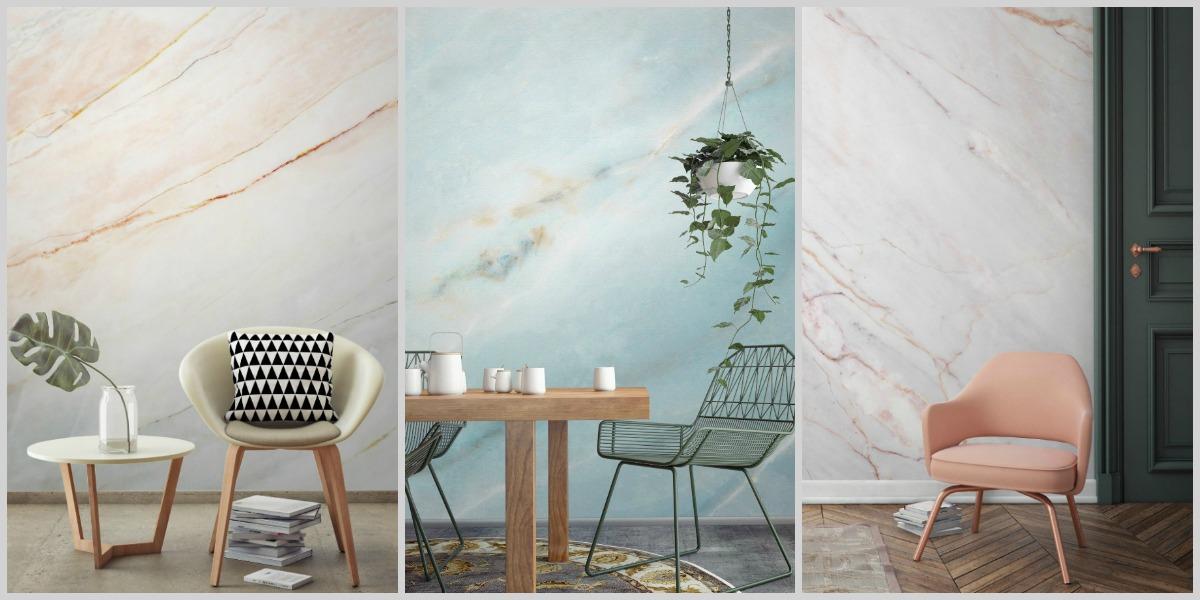5 ideas para renovar tu hogar con papel mármol